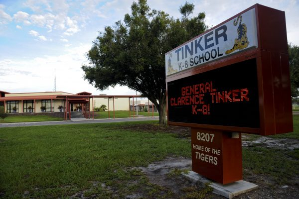 Tinker K-8 - photo by Airman 1st Class Danielle Quilla